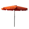 International Caravan 9-ft 10-in Terra Cotta Market Umbrella