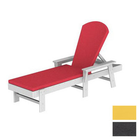 shop polywood south beach plastic patio chaise lounge at. Black Bedroom Furniture Sets. Home Design Ideas