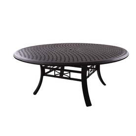 Patio Tables Patio Dining Tables Darlee Series 99 Antique Bronze Oval