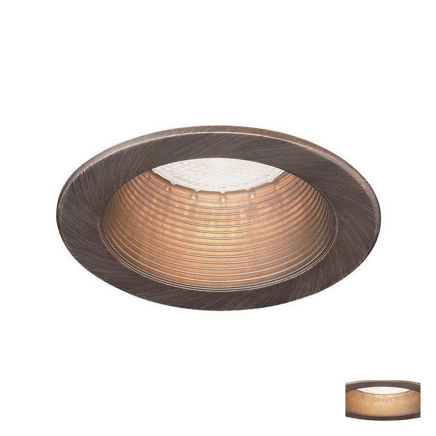 shop thomas lighting 4 in bronze baffle recessed recessed. Black Bedroom Furniture Sets. Home Design Ideas