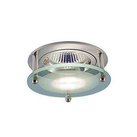 JESCO Satin Chrome Open Recessed Light Trim (Fits Housing Diameter:)