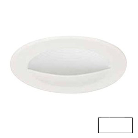 Shop Volume International White Wall Wash Recessed Light Trim (Fits Housing Diameter: 4-in) at ...