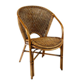 Shop Hospitality Rattan Greece Natural Dining Chair At