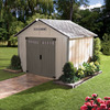 Homestyles Premier Gable Storage Shed (Common: 10-ft x 8-ft; Actual Interior Dimensions: 9.91-ft x 7.93-ft)