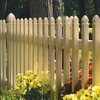 Barrette Select 4-ft x 8-ft Desert Sand Gothic Picket Vinyl Fence Panel