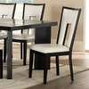 Steve Silver Company Set of 2 Delano Rich Espresso Dining Chairs