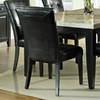 Steve Silver Company Set of 2 Monarch Black Dining Chairs