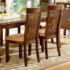 Steve Silver Company Set of 2 Montreal Solid Ash Dining Chairs