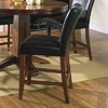 Steve Silver Company Set of 2 Serena Dark Rich Cherry Dining Chairs