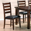 Steve Silver Company Set of 2 Sao Paulo Rich Cherry Dining Chairs