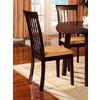Furniture of America Set of 2 Clarksville I Dark Cherry Dining Chairs