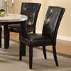 Furniture of America Set of 2 Marion Espresso Dining Chairs