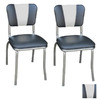 Richardson Seating 50's Retro Chrome Dining Chair
