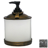 Anne at Home Matte Pewter Soap/Lotion Dispenser