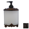 Anne at Home Black with Copper Wash Soap/Lotion Dispenser