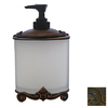 Anne at Home Black with Maple Wash Soap/Lotion Dispenser