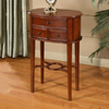 All Things Cedar Cherry Birch Oval End Table