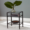 Boston Loft Furnishings Black Rectangular End Table