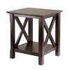 Winsome Wood Cappuccino Rectangular End Table