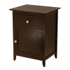 Winsome Wood Espresso Rectangular End Table