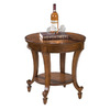 Magnussen Home Aidan Cinnamon Round End Table