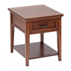 Magnussen Home Harbor Bay Toffee Cherry Rectangular End Table