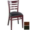 Alston Quality Industries Walnut Dining Chair
