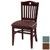 Regal Seating Set of 2 Walnut Dining Chairs