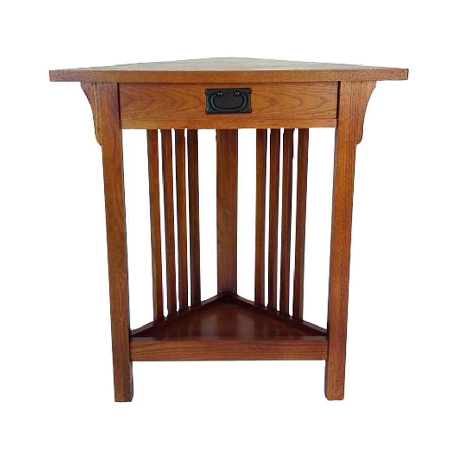 Shop Wayborn Furniture Oak Birch Corner End Table At
