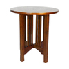 Wayborn Furniture Oak Birch Round End Table
