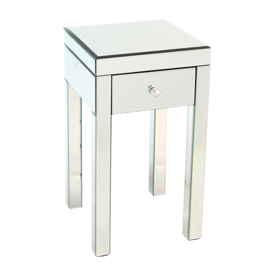 Shop Wayborn Furniture Mirror Pine Square End Table At