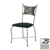 Trica Cafe Silver Dining Chair