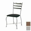 Trica Latte Silver Dining Chair