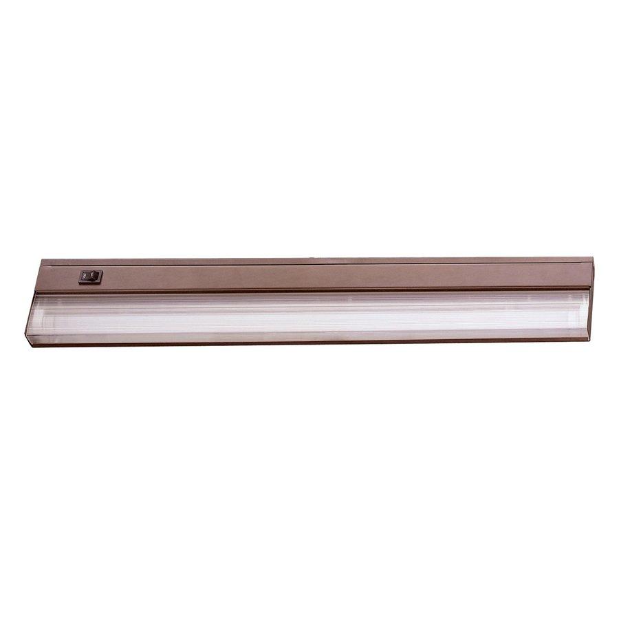 lighting 21 in hardwired under cabinet fluorescent light bar at lowes. Black Bedroom Furniture Sets. Home Design Ideas