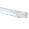 JESCO Sleek Plus 58.25-in Plug-In Under Cabinet Fluorescent Light Bar