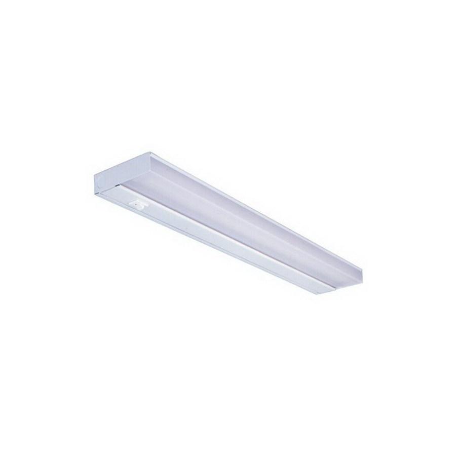shop nicor lighting 21 in hardwired plug in under cabinet. Black Bedroom Furniture Sets. Home Design Ideas