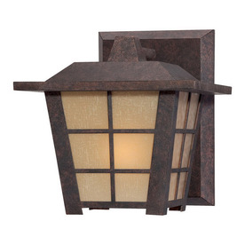 Philips Forecast Shoji 7-3/4-in Colonial Bronze Outdoor Wall Light
