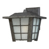 Philips Forecast Shoji 11-1/8-in Roma Silver Outdoor Wall Light