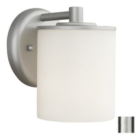 Philips Forecast 7-in Vista Silver Outdoor Wall Light