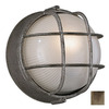 Philips Forecast Oceanview 7-1/2-in Silver Rust Outdoor Wall Light