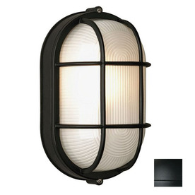 Philips Forecast Oceanview 8-in H Black Outdoor Wall Light