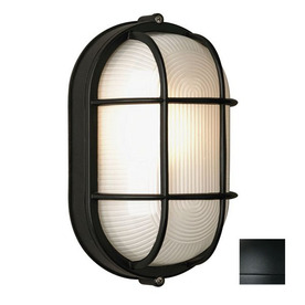 Philips Forecast Oceanview 11-in Black Outdoor Wall Light