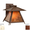 Steel Partners Sticks 10-in H Rust Dark Sky Outdoor Wall Light
