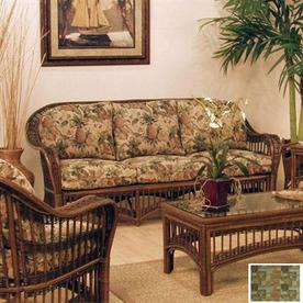 Hospitality Rattan St. Lucia Antique Stationary Sofa
