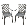 Crosley Furniture Aluminum Patio Dining Chair