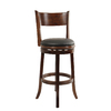 Boraam Industries Palmetto Chestnut 29-in Bar Stool