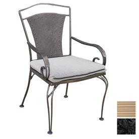 Shop Cascadia Reston Wrought Iron Patio Dining Chair at