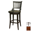 Greystone Guilford Suede 30-in Bar Stool