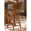 Liberty Furniture Nostalgia Medium Oak 24-in Counter Stool