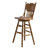 Liberty Furniture Nostalgia Medium Oak 30-in Bar Stool